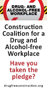 Drug & Alcohol Free workplace Side Banner